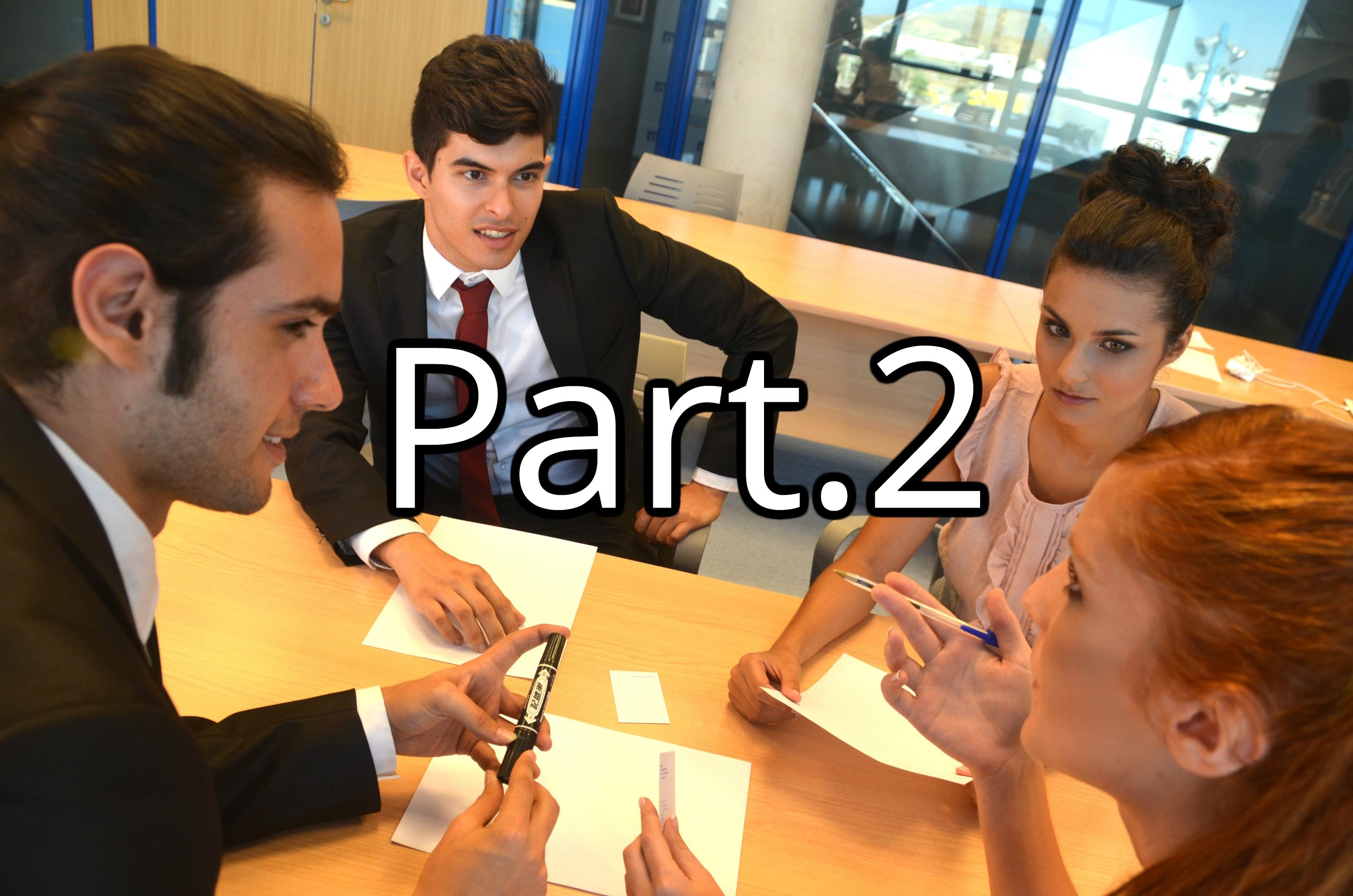 会議する人パート2